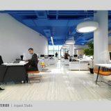 Office interior, Bank Asia