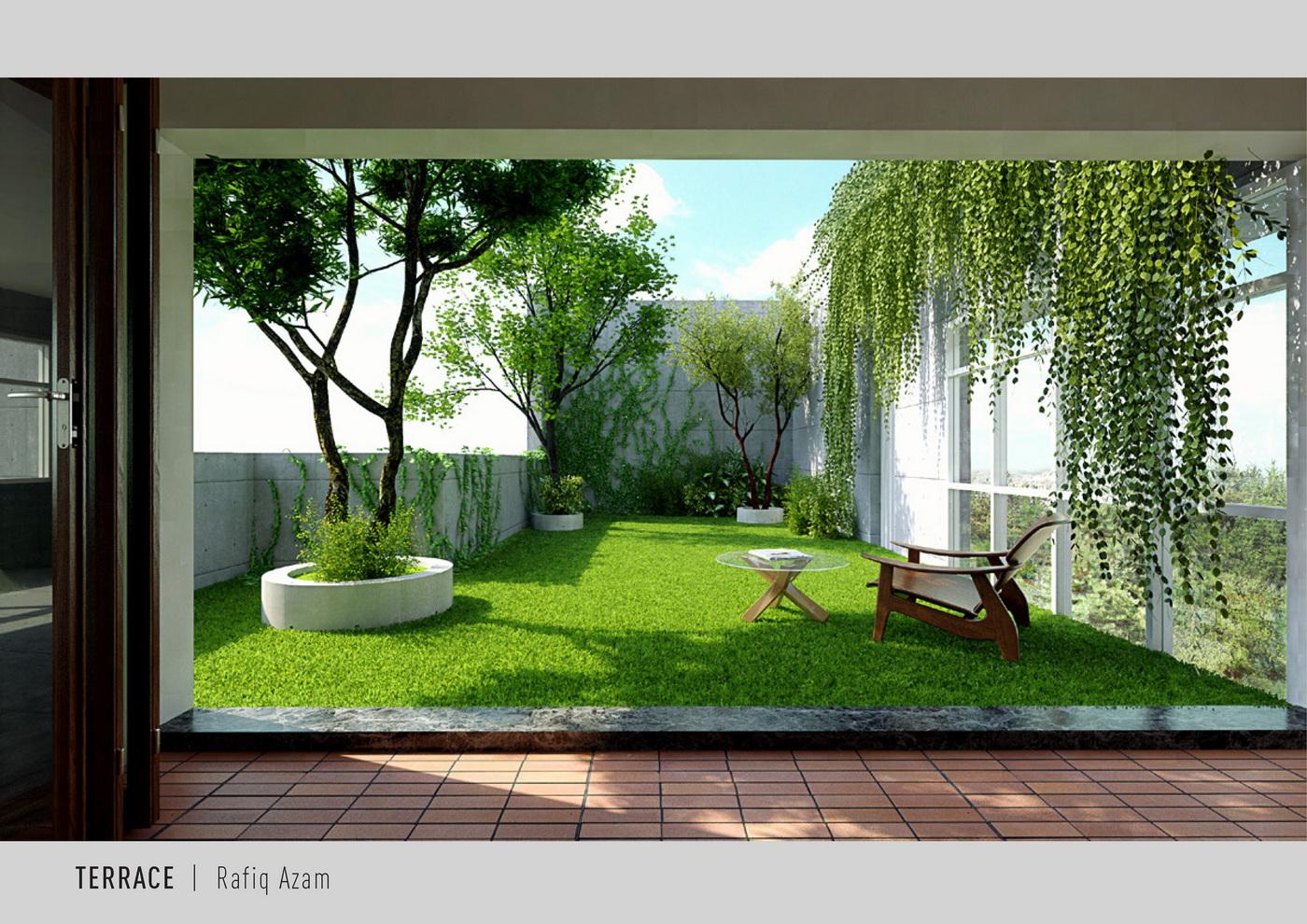 Terrace for Shanta properties